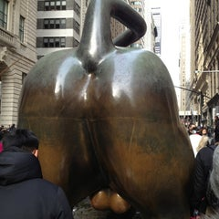 Photo taken at Charging Bull by Scott F. on 12/31/2012