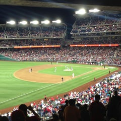 Photo taken at Nationals Park by ThePurplePassport.com on 7/11/2013