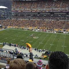 Photo taken at Heinz Field by Greg S. on 12/9/2012