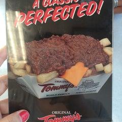 Photo taken at Original Tommy's Hamburgers by Ashley V. on 5/5/2014