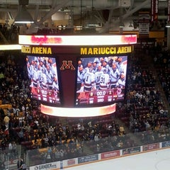 Photo taken at Mariucci Arena by Devin P. on 1/2/2013