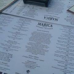 Photo taken at Marica Café-Bar & Restaurant by Patrícia K. on 7/5/2014