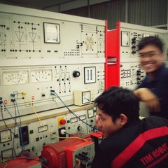 Photo taken at Jurusan Teknik Elektro dan Teknologi Informasi UGM by Hadiyan Yusuf K. on 12/18/2012