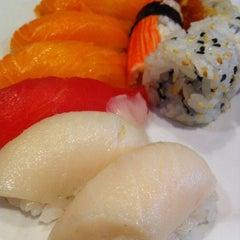Photo taken at Kiku Japanese Steak & Sushi by Kiyo on 5/9/2013