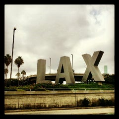 Photo taken at LAX Sign by Jack S. on 10/8/2012