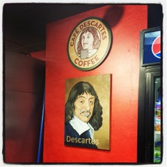 Photo taken at Cafe Descartes by Brandon B. on 11/13/2013