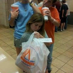 Photo taken at Whataburger by Angie B. on 5/11/2013
