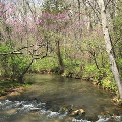 Photo taken at Spring Mill State Park by Andrew R. on 4/19/2015