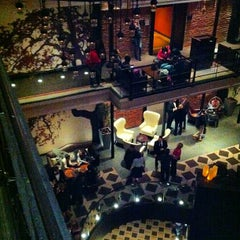 Photo taken at The Liberty Hotel by Kyle P. on 1/25/2013