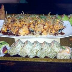 Photo taken at Samurai Japanese Cuisine Sushi Bar & Grill by Sindi H. on 9/28/2012
