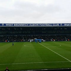 Photo taken at The Hawthorns by Adam S. on 3/19/2016