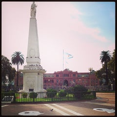 Photo taken at Plaza de Mayo by Antonio S. on 4/27/2013
