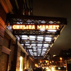 Photo taken at Chelsea Market by Antonio S. on 2/23/2013