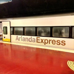 Photo taken at Arlanda Express (Arlanda S) by Gerrit H. on 3/3/2013