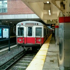 Photo taken at MBTA Red Line by Julian W. on 6/22/2015