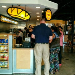 Photo taken at Which Wich? Superior Sandwiches by Julian W. on 7/31/2015