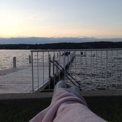 Photo taken at Geneva Lake by Meagan B. on 6/30/2013