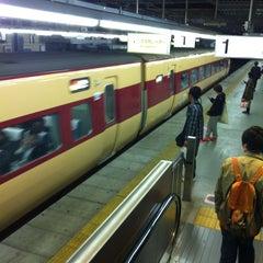Photo taken at JR 宝塚駅 (Takarazuka Sta.) by Bridgetown B. on 4/15/2013