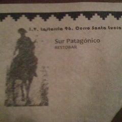 Photo taken at Patagonia Resto Bar by Fërnando P. on 10/6/2012