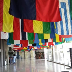Photo taken at World Health Organization - Main Building by Carolina R. on 5/18/2014