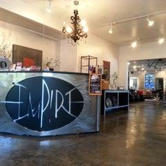 Photo taken at Empire Hair Studio by Daniel B. on 10/25/2013