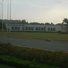 Photo taken at Khu Công Nghệ Cao Tp.HCM (SaiGon Hi-Tech Park) by Mark K. on 3/4/2013