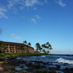 Photo taken at Sheraton Kauai Resort by ernie e. on 5/12/2013