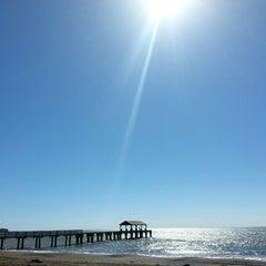 Photo taken at Waimea Recreation Pier by ernie e. on 1/9/2015
