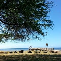 Photo taken at Waimea Recreation Pier by ernie e. on 3/23/2015