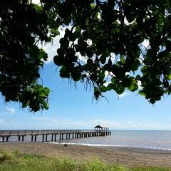 Photo taken at Waimea Recreation Pier by ernie e. on 10/27/2014