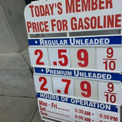Photo taken at Costco Gas by ernie e. on 1/18/2015
