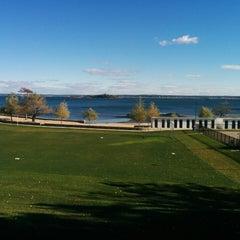 Photo taken at Davenport Beach Club by josh h. on 10/19/2014