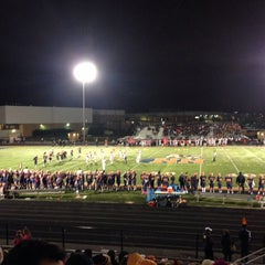 Photo taken at Naperville North High School by Steph R. on 10/11/2014