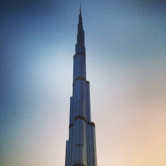 Photo taken at Burj Khalifa by Brian G. on 4/4/2013