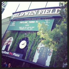 Photo taken at Providence Park by Shannon F. on 7/28/2013