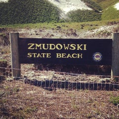 Photo taken at Zmudowski State Beach by Veronica H. on 2/26/2013