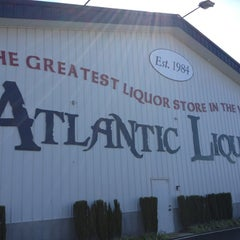 Photo taken at Atlantic Liquors by Marissa Z. on 10/14/2012