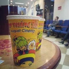 Photo taken at Rạp Cinê Tháng Tám (August Cinema) by Tồ T. on 1/8/2014