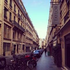 Photo taken at Hôtel Taylor by Leila on 4/11/2014