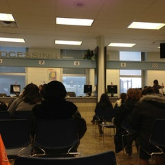 Photo taken at Illinois Secretary of State Driver Services Facility by Kyle M. on 2/5/2013
