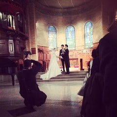 Photo taken at St. Paul's Chapel - Columbia University by Jeremy F. on 2/15/2014