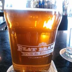 Photo taken at Flat Branch Pub & Brewing by Debbie L. on 3/11/2013