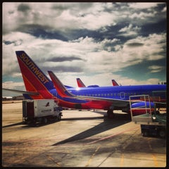 Photo taken at Albuquerque International Sunport (ABQ) by Angel L. on 5/14/2013