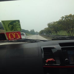 Photo taken at Melaka-Johor Border by Puteri H. on 9/25/2015
