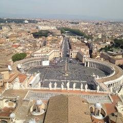Photo taken at Piazza San Pietro by Filipe C. on 4/24/2013