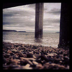 Photo taken at Sequim Bay State Park by Starlit S. on 11/18/2012