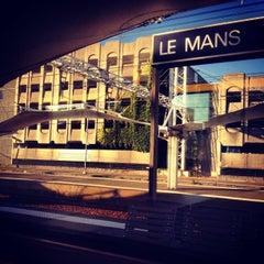 Photo taken at Gare SNCF du Mans by Jean-Emmanuel S. on 9/4/2013