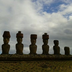 Photo taken at Isla de Pascua | Rapa Nui by Simona B. on 2/28/2013
