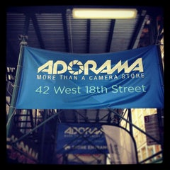 Photo taken at Adorama by Jay D. on 4/19/2013