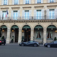 Photo taken at Le Meurice by nomu_119117 H. on 7/6/2013